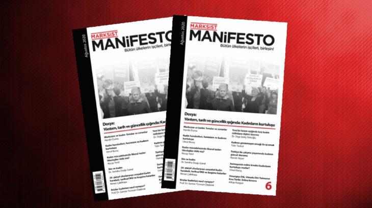 Marksist Manifesto'nun 6. sayısı çıktı