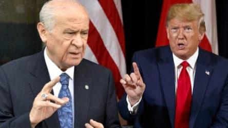 MHP, ABD seçimlerinde Trump'ın zaferini istiyor