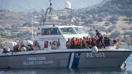 Muğla açıklarında bir tekneye Yunan Sahil Güvenliği tarafından ateş açıldı