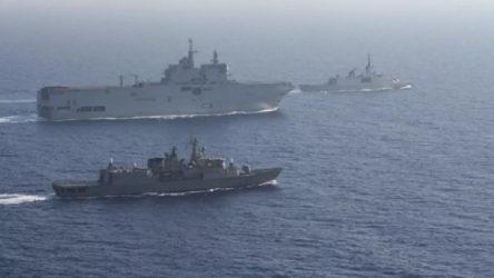 Pentagon'dan Doğu Akdeniz'de Yunanistan-Fransa ortak tatbikatı açıklaması: Endişeliyiz