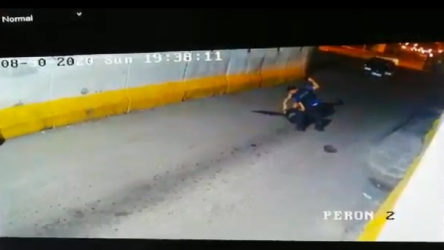 VİDEO | Polisten bekçiye öldüresiye darp