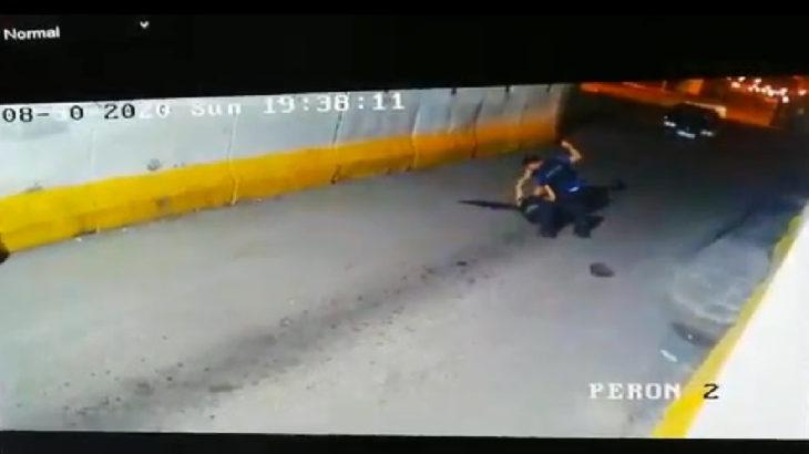 VİDEO   Polisten bekçiye öldüresiye darp