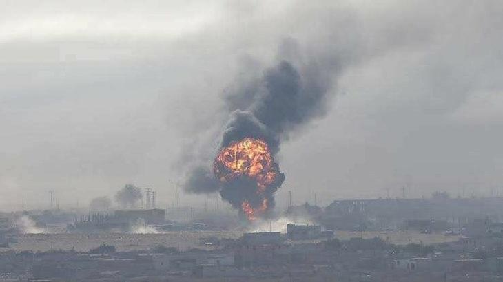 Şam'da doğalgaz boru hattında patlama: Terör saldırısı olduğundan şüpheleniliyor