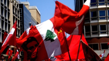 Lübnan Komünist Partisi: Her türlü dış müdahaleyi reddediyoruz