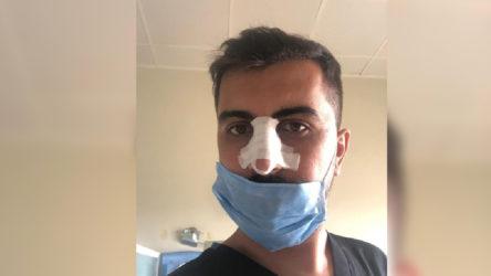 Sosyal mesafe uyarısı yapan sağlık görevlisine şiddet!