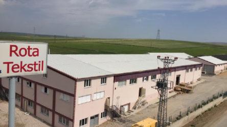 Yozgat'ta Rota Tekstil Fabrikasında koronavirüs: İşçiler çalışmaya devam ettiriliyor
