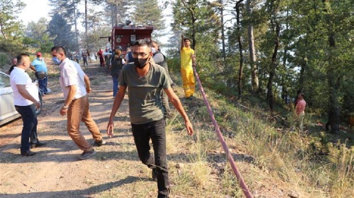 Zonguldak Devrek'te orman yangını: 100 dönüm alan etkilendi
