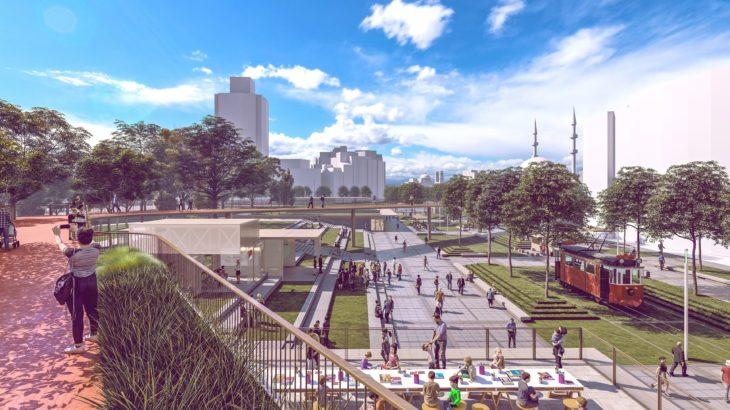 Taksim'in yeni tasarımı yarışmasında sona gelindi