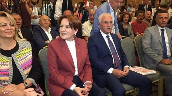 Vekillerden Akşener'e 'Koray Aydın' ziyareti