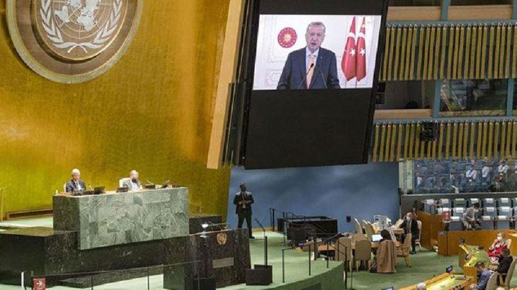 Erdoğan'ın sözleri üzerine İsrail temsilcisi salonu terk etti