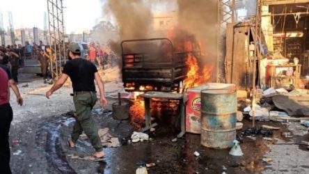 Afrin'de patlama: 7 ölü, 40 yaralı