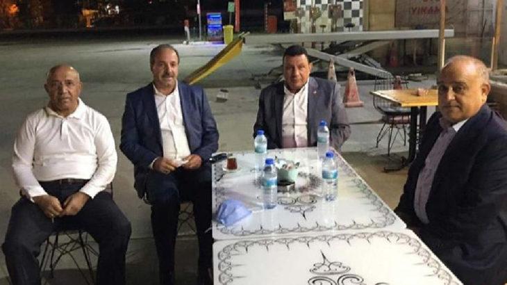 AKP'li ve MHP'li vekiller birbirine girdi, polis ayırdı, patron barıştırdı