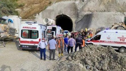 Kop Dağı Tüneli inşaatında yaralanan işçilerden biri yaşamını yitirdi