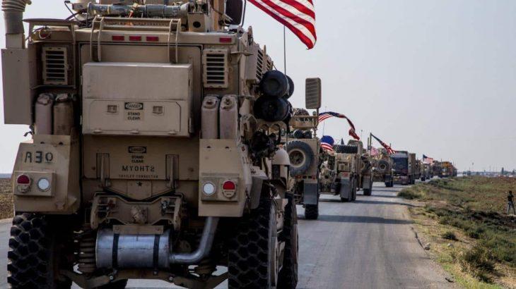İşgalci ABD'den Suriye'deki üslerine askeri teçhizat takviyesi