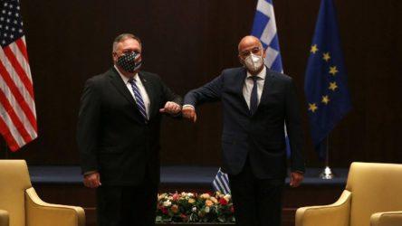 ABD ve Yunanistan'dan ortak Doğu Akdeniz açıklaması