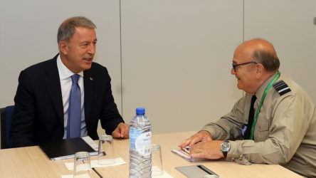 Akar, NATO Askeri Komite Başkanı Peach ile görüşecek