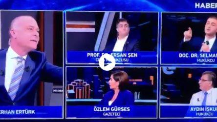 VİDEO | AKP'li Selman Öğüt, hilafeti savunmasına tepki gösterilince programı terketti