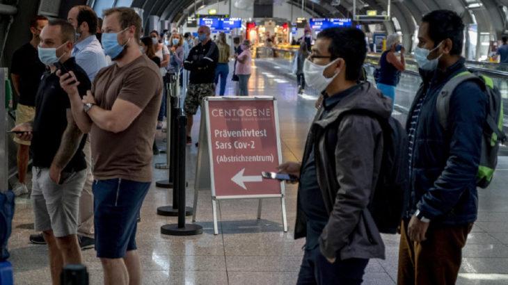 Almanya, AB ülkeleri hariç 160 ülkeyi kapsayan seyahat uyarısını uzattı