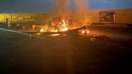 Bağdat Uluslararası Havalimanı'na saldırı: 5 ölü, 2 yaralı