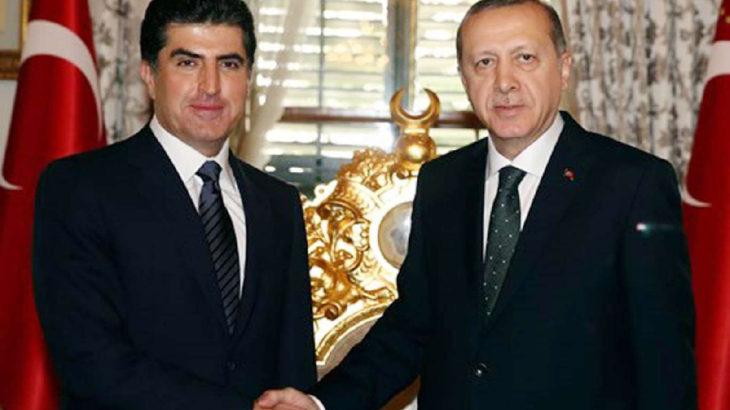 Barzani Ankara'da: Erdoğan'la görüşecek