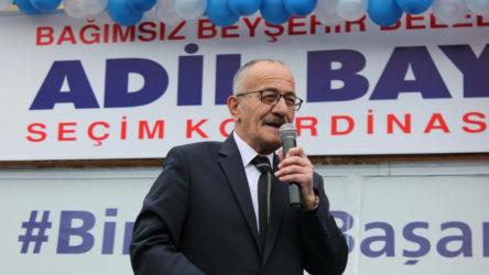 Beyşehir Belediye Başkanı Adil Bayındır koronavirüse yakalandı