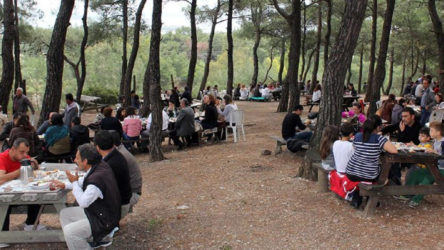 Karantinada olması gereken 78 kişi piknikte yakalandı
