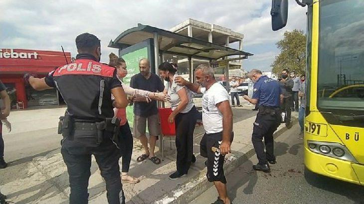 Bursa Osmangazi'de maske takmayan yolcuyu bıçaklayan şoför tutuklandı