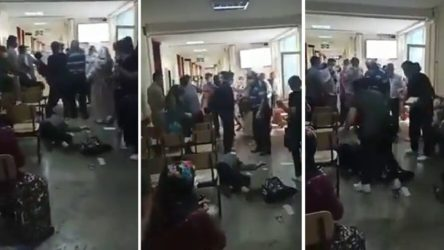 İstanbul'da saldırıya uğrayan sağlık çalışanı görme yetisini kaybedebilir