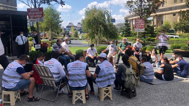 TKH İl Örgütü'nden Cargill işçilerine dayanışma ziyareti
