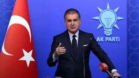 AKP'li Çelik'ten Macron'a yanıt