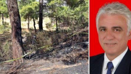 CHP'li başkanı vurduktan sonra ormanı ateşe veren zanlı adliyeye sevk edildi