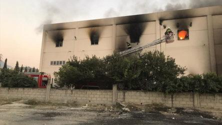Denizli'de fabrikada patlama: 2 işçi hayatını kaybetti, 3 yaralı