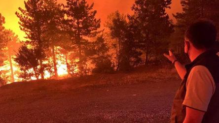 Denizli Çardak'taki orman yangını Burdur'a sıçradı: Bakandan karşı ateş talimatı