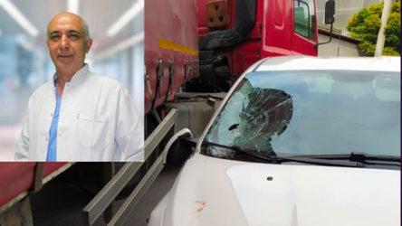 Filyasyon ekibindeki doktor denetimdeyken kazada yaşamını yitirdi