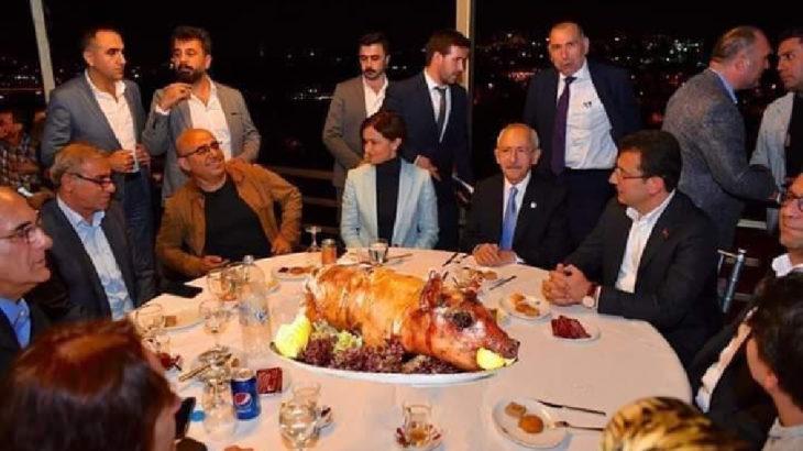 Troller bu kez masaya domuz koydu
