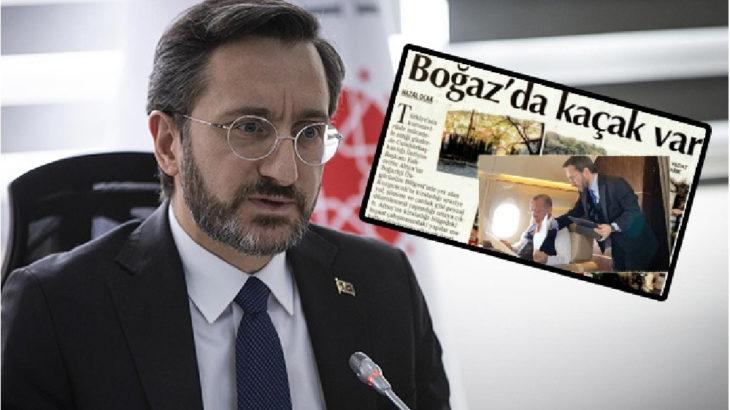 İletişim Başkanı Altun, Fransız gazetecilere sahip çıktı...