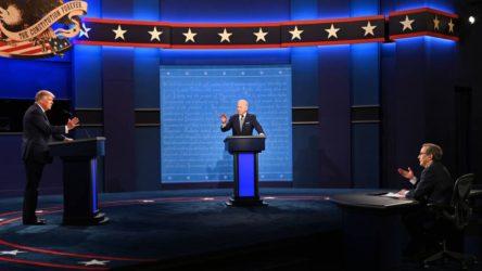 Trump ve Biden 'düello'da buluştu