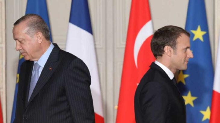 Erdoğan'dan Macron'a yanıt: O kurt sofrasında bizi yiyemezsiniz...