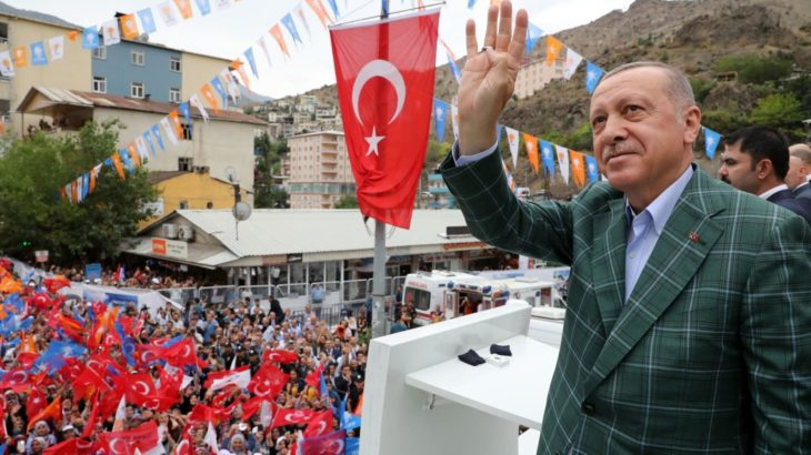 Erdoğan'ın selamıyla 'AKP'ye üyelik' teklifi