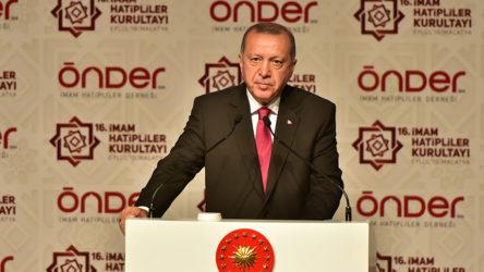 Erdoğan: Bütün baskılara, yasaklara rağmen hamdolsun imam hatip okulları dimdik ayaktadır