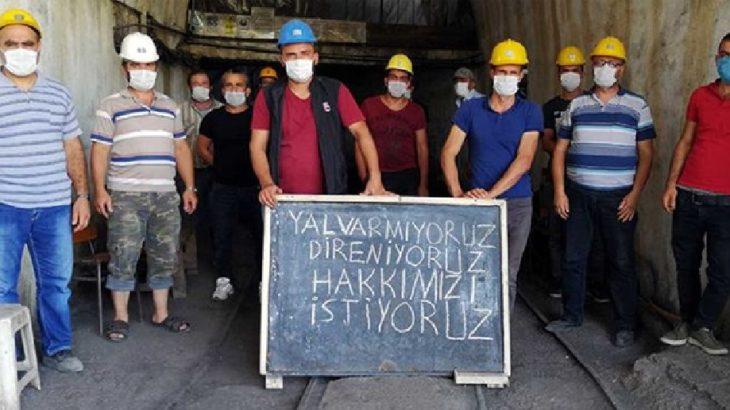 Ermenekli maden emekçileri taleplerini açıkladı