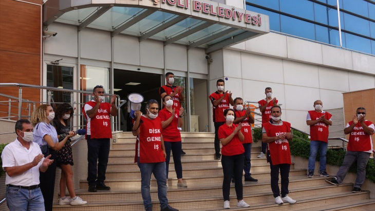 Çiğli Belediyesi'nde temizlik işçilerinden grev kararı
