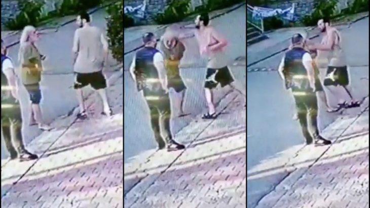 Halil Sezai'nin 67 yaşındaki yaşlı adamı dövdüğü görüntüler ortaya çıktı