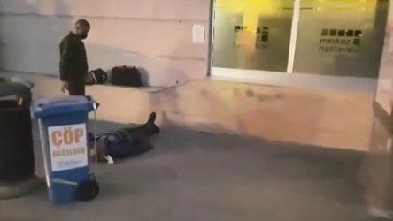 Özel hastanenin kapısının önünde fenalaşan ve müdahale edilmeyen yurttaş hayatını kaybetti!