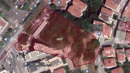 İBB Beşiktaş'ta ağaçlık arsayı satışa çıkardı