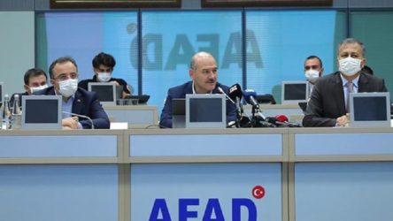 İçişleri Bakanı Soylu'dan 'deprem' açıklaması