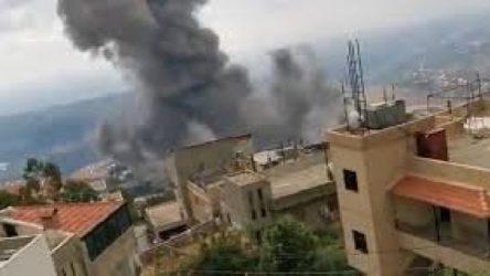 Lübnan'da şiddetli patlama