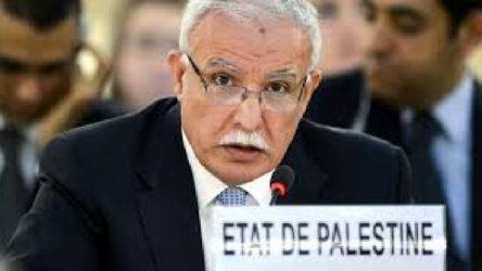 Filistin, Arap Birliği dönem başkanlığını bıraktı