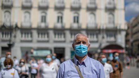 İspanya'da son 3 günde 31 bin 785 yeni vaka