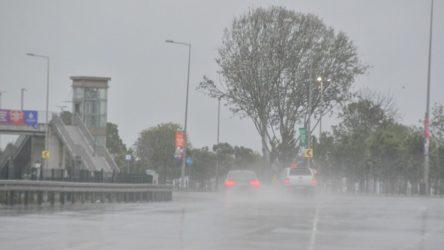 İstanbul'da şiddetli yağışa sarı alarm!